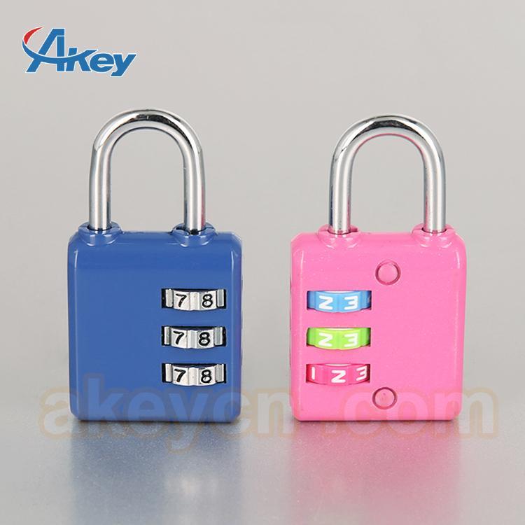 Professional supplier digital fashion mini locks for handbags 1