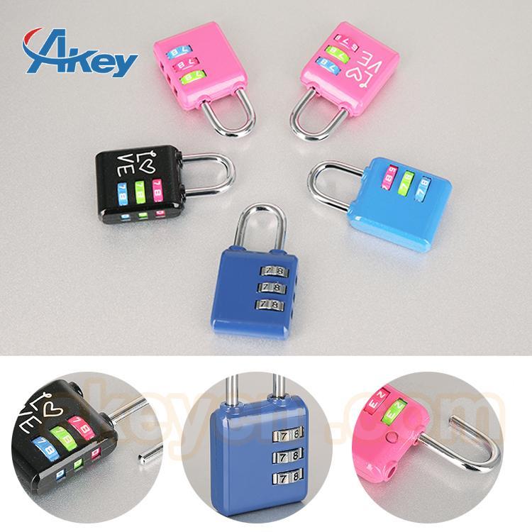 Professional supplier digital fashion mini locks for handbags 4