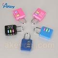 Professional supplier digital fashion mini locks for handbags 5