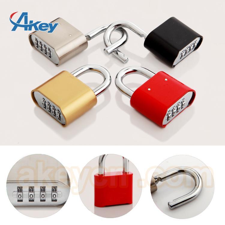 4 digits combination zinc alloy padlock safety 5