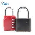 4 digits combination zinc alloy padlock safety