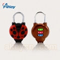 Mini cute padlock travel lock