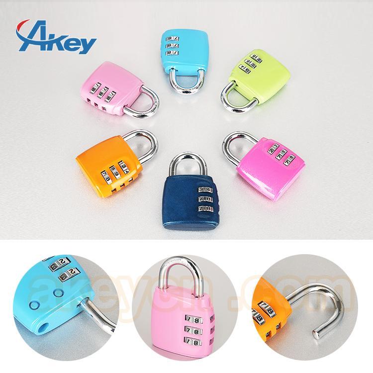 Promotion travel combination lock 5