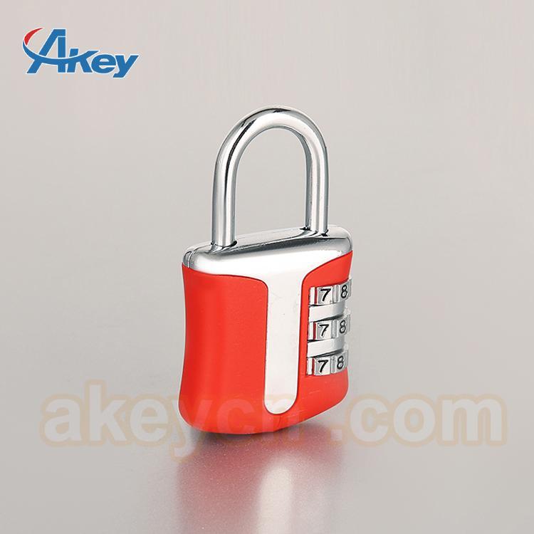 Professional Supplying combination bulk suitcase zipper lock 1