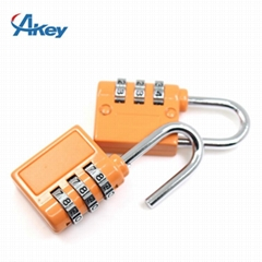 3 codes promotional metal box combination lock