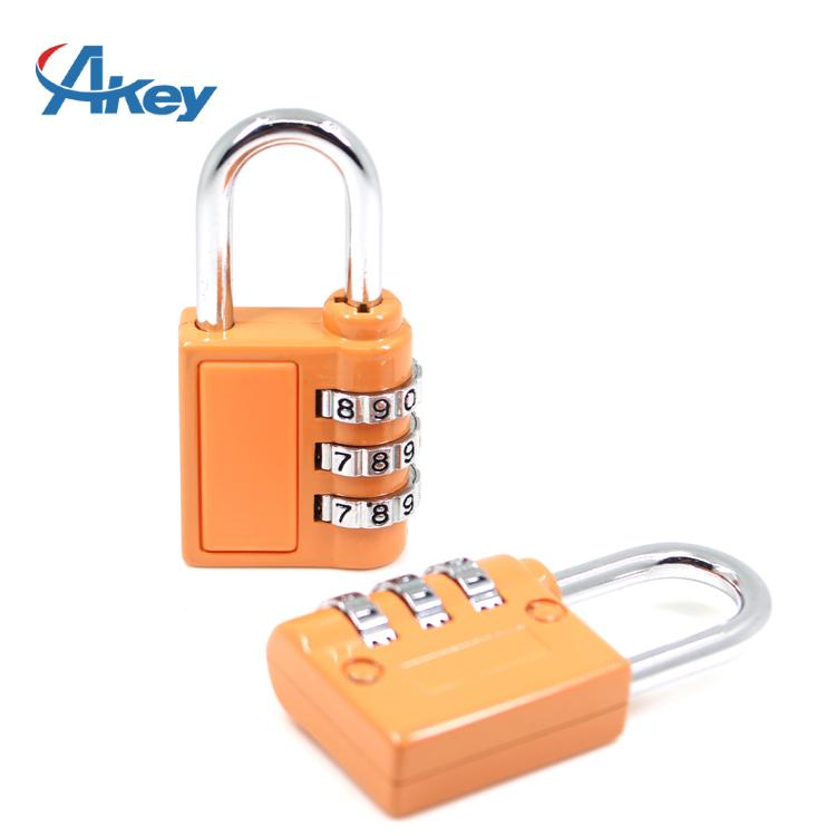 3 codes promotional metal box combination lock 5