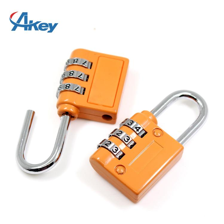 3 codes promotional metal box combination lock 6