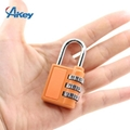 3 codes promotional metal box combination lock 7