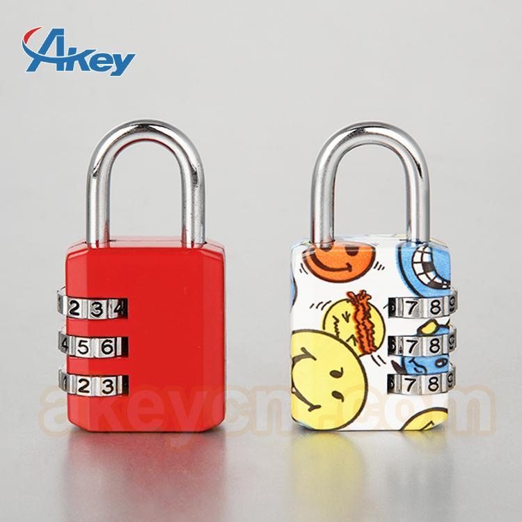 Digits travel suitcase lock mini security safety padlock 1
