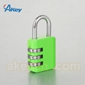 Digits travel suitcase lock mini security safety padlock 4