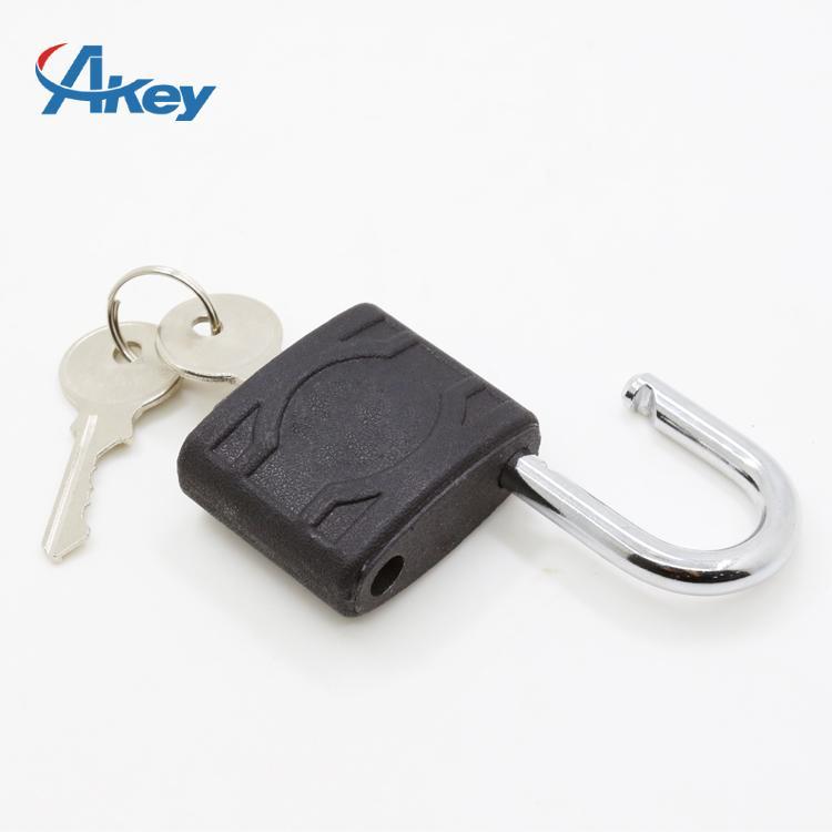 Plastic coated metal key lock master key padlock 2