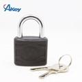 Plastic coated metal key lock master key padlock 3