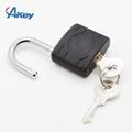 Plastic coated metal key lock master key padlock 5