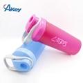 Plastic GYM shaker bottle fitness protein Shaker