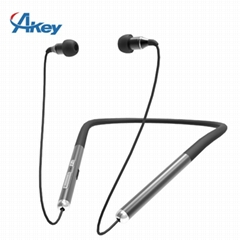 Bluetooth Earphone Neckband Sports Headset Waterproof
