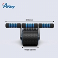 Exercise Fitness Equipment Abdominal 4 Wheels Workout Roller Wheel