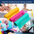 3 Pack Exercise Fitness Latex Stretch Resistance loop Bands