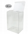 Clear Plastic Protector Case Compatible For 4-inch Funko Pop Figures (20 Pack)