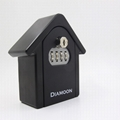 Diamoon Metal Lock Box Wall Mounted