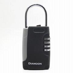 免安装壁挂式钥匙盒