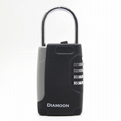 免安裝壁挂式鑰匙盒