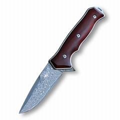 Damascus Folding Pocket Knife #A4110 (Hot Product - 1*)