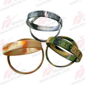 Camouflage Silicone Bracelets 1