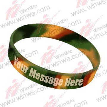 Camouflage Silicone Bracelets 2