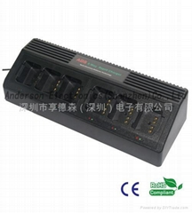 ADS-SCAU/SCDU Six-way universal battery Charger Anderson Electronics