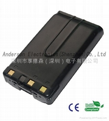 PB43 two way Radio Battery with sanyo cell 2500mAh Anderson Electronics