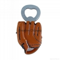 baseball theme bottle openers