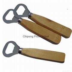 Wood Handle Bottle Opener