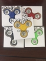 Stress Reliver Fidget Spinner with One axle aluminum wheel Toy Spinner Hand Spin