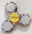 Stress Reliver Fidget Spinner with Plastic One light flashing Toy Spinner Hand S 4