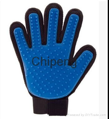 Five Star Soft Rubber And Breathable Mesh Groming Efficient Hair Remover Mitt Ma 1