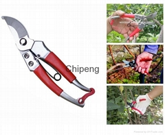 """Bypass Pruning Shears 8"""" Hand Pruner High Quality Secateur Safety Lock Scissors"""