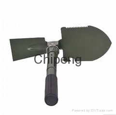 Outdoor hunting High quality iron garden folding shovel  Garden military shovel