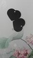 Black large heart tag Pet Dog ID Tag DOG TAGS 1601023  1