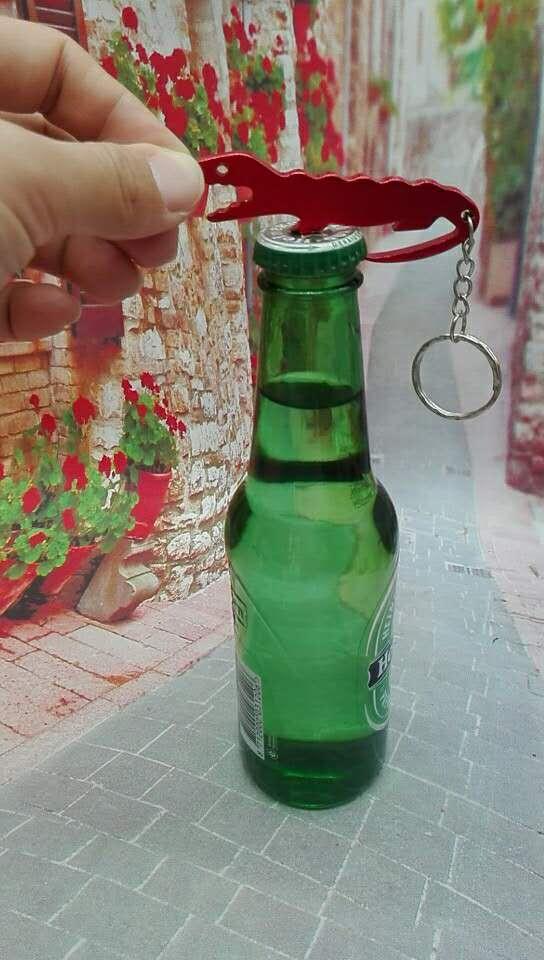 Alligator Design Aluminum Beer Opener 1612609 2