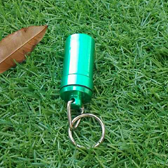 52mm Square bottom Capsule Keychain 1601101