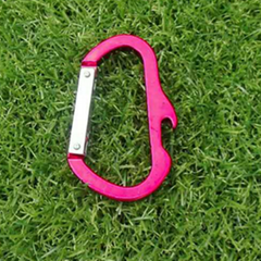 carabiner whistle keychain bottle opener beer opener 1612804