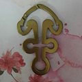 Many shapes design keychain 1607223