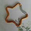 Star design keychain 1607226