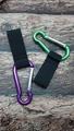 Carabiner to fastening strap keychain 1608002