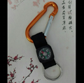 Carabiner to compass keychain 1608004