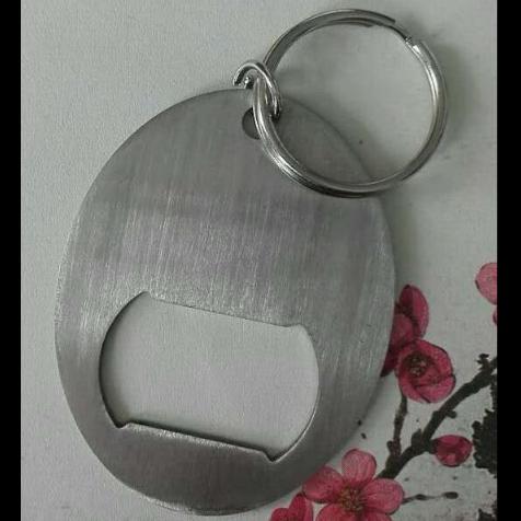 ss oval bottl opener keychain 1613827 1