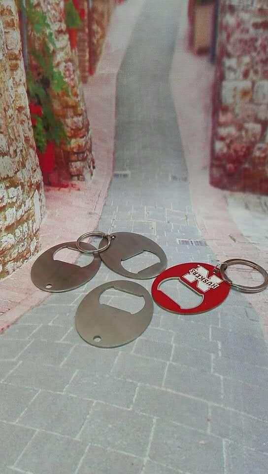 ss oval bottl opener keychain 1613827 6