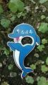 magnetic dolphine design plastic bottle opener 1613835 3