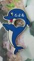 magnetic dolphine design plastic bottle opener 1613835