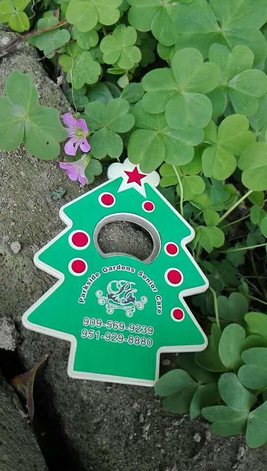 magnetic Christmas tree plastic bottle opener 1613836 2